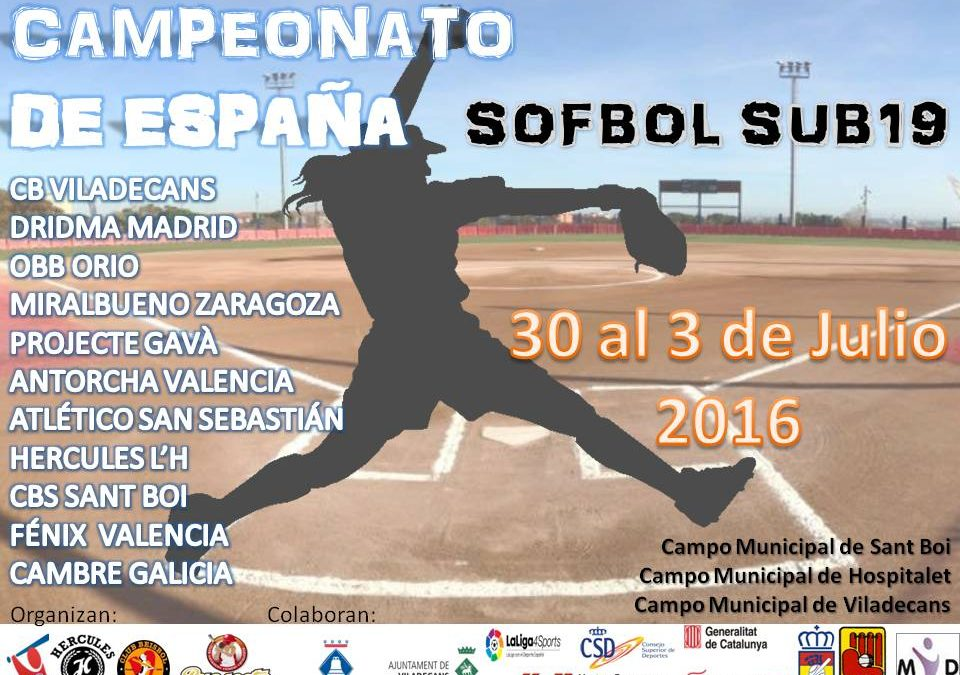 Dridma participa en el Campeonato de España Sub19 este fin de semana