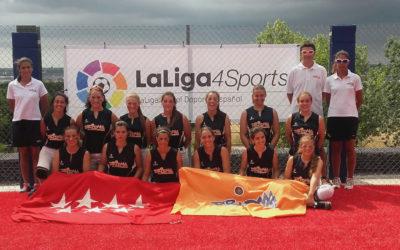 El Dridma Rivas Sub19 medalla de bronce en el Campeonato de España