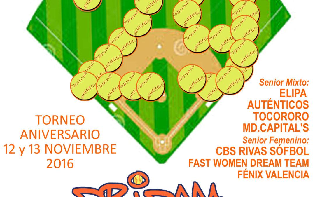 Celebramos (por fin) el Torneo 29º Aniversario Dridma el 12-13 noviembre