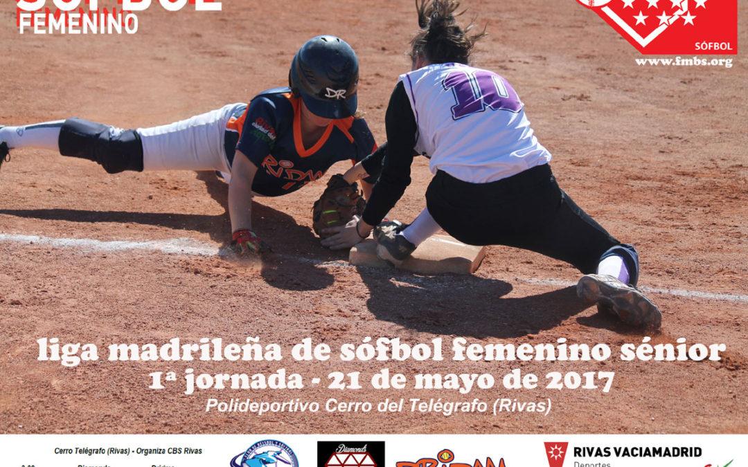 Dridma vence en la primera serie de la Liga Madrileña de Sófbol Femenino Fastpitch 2017