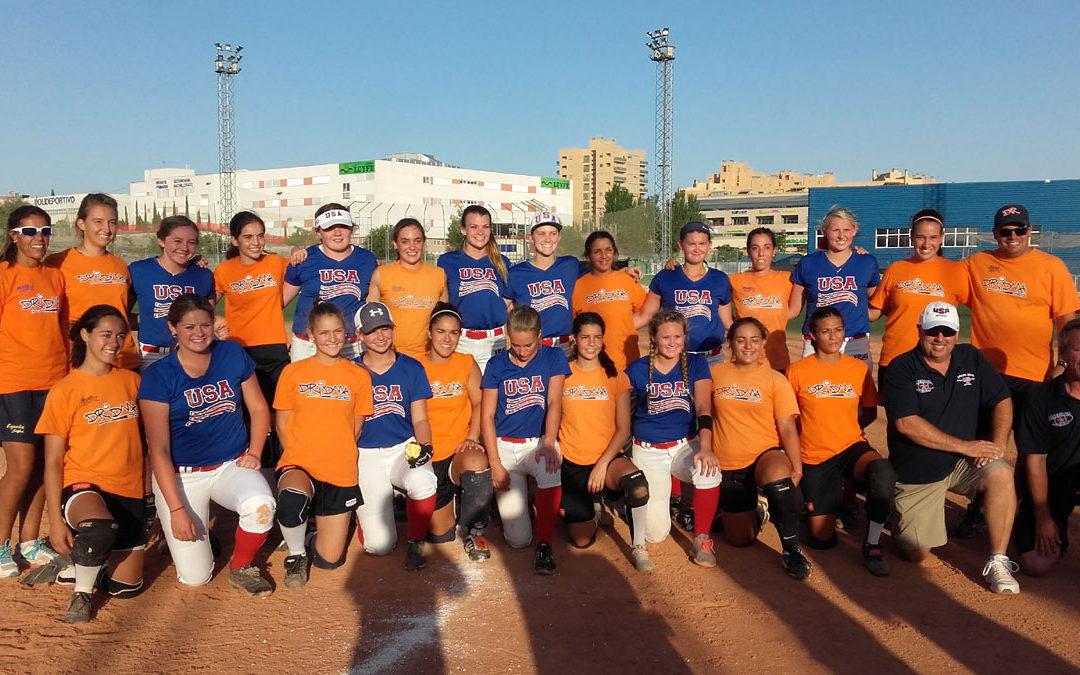 Miércoles 12 de julio, partido amistoso Dridma contra equipo USA