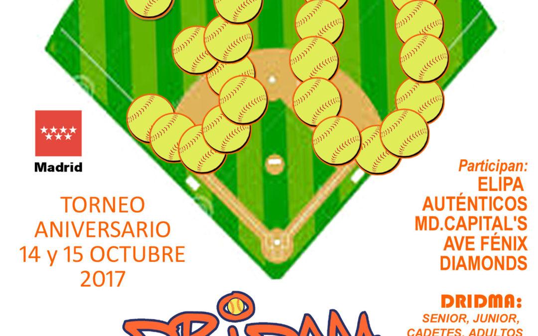 Aniversario Dridma: cumplimos 30 años jugando a sófbol