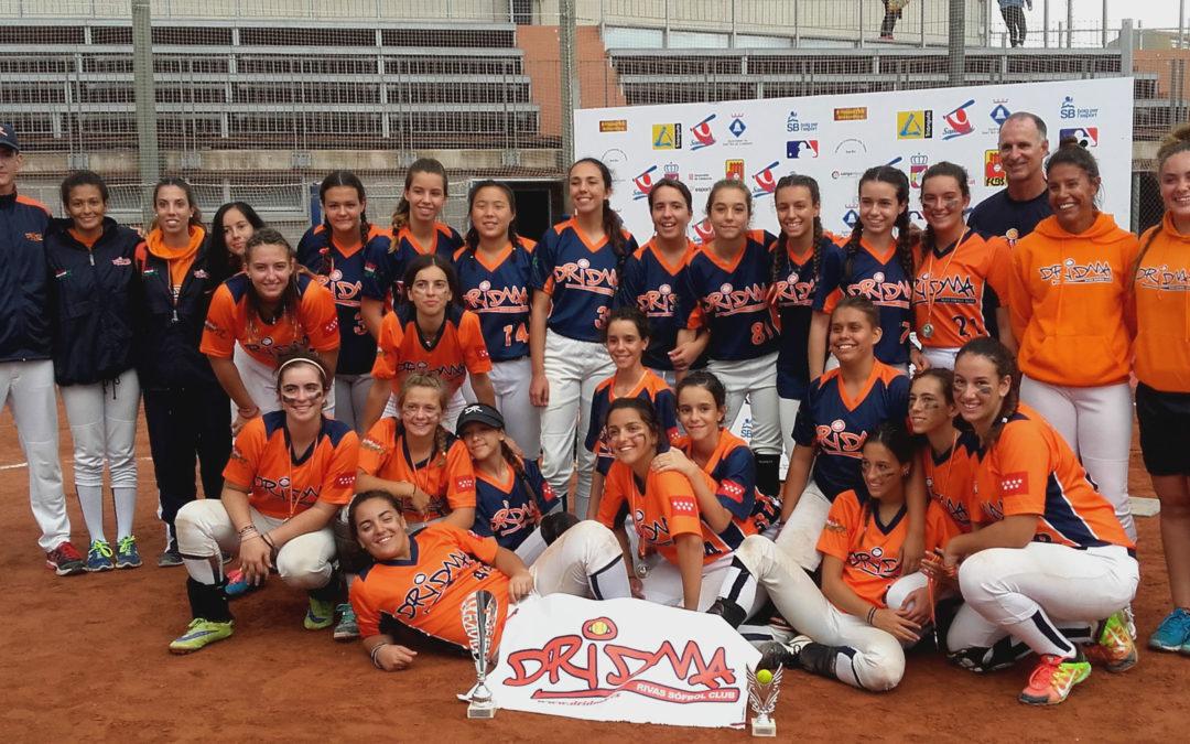 Dridma A subcampeón en el Campeonato de España de Sófbol Femenino Sub-16 celebrado en Barcelona. El Dridma B acaba en un meritorio 5º puesto
