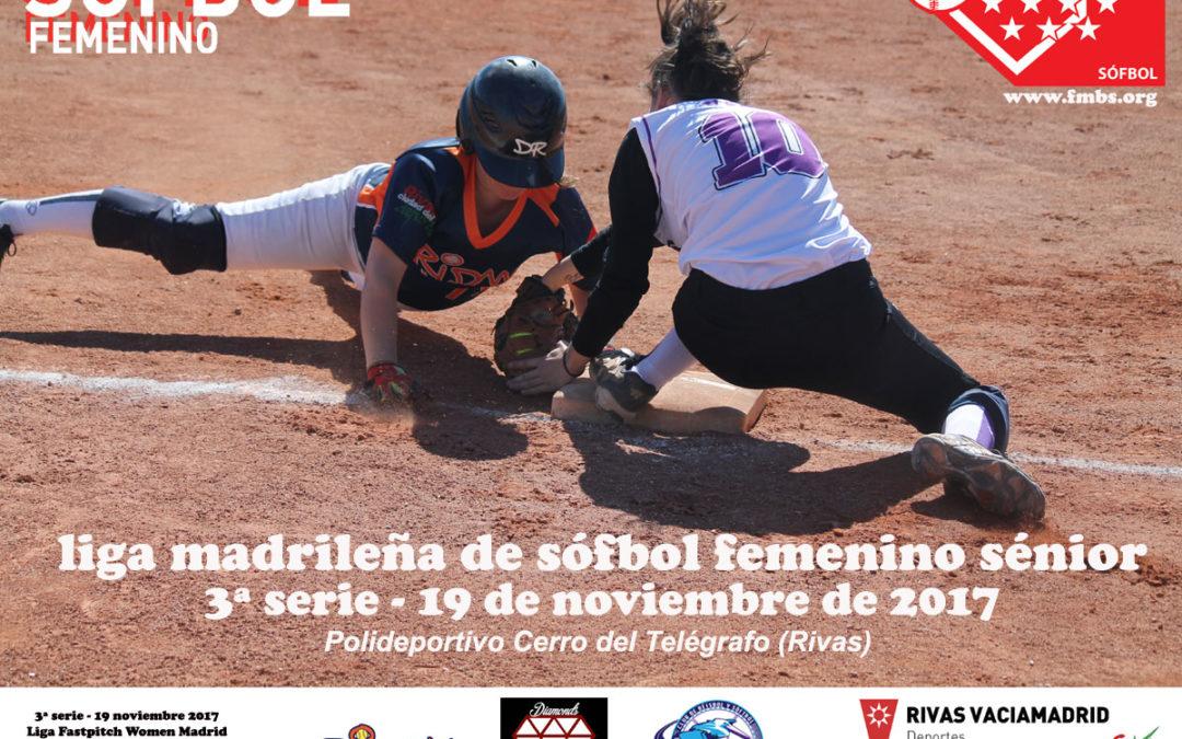 Liga Women Fastpitch Softball Madrid 2017