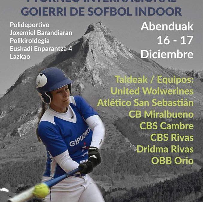Dridma participa en el I Torneo Internacional Goierri de Sófbol Indoor