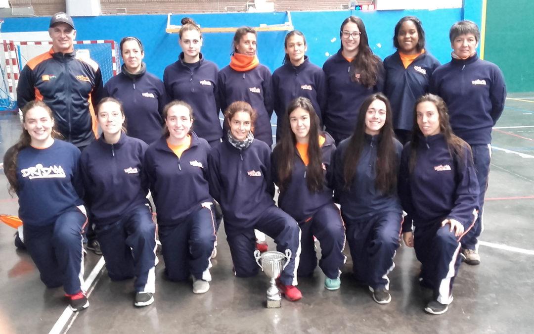Dridma se clasifica tercero en el Torneo Indoor Goierri 2017