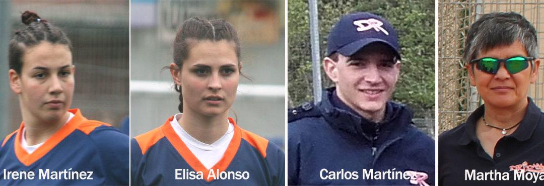 Jugadoras y técnico Dridma a la Selección Sub19
