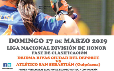 2ª jornada de la Liga Nacional División de Honor 2019. Dridma – ATSS