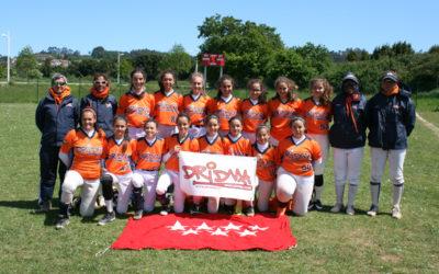 Las cadetes Dridma subcampeonas de España 2019