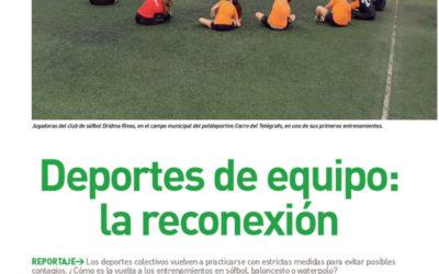 Reportaje Rivas al Día: Deportes de equipo, la reconexión